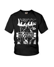 No JUstice No Peace TT4 Youth T-Shirt thumbnail