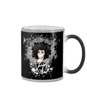 Black Girl 03 Color Changing Mug thumbnail