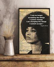 Angela Davis - Black Lives Matter 11x17 Poster lifestyle-poster-3
