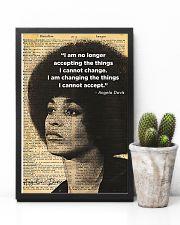 Angela Davis - Black Lives Matter 11x17 Poster lifestyle-poster-8