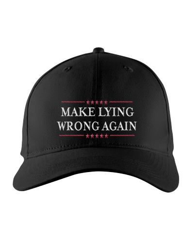 Make-Lying-Wrong--Hat