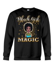 Black Girl Magic Crewneck Sweatshirt thumbnail