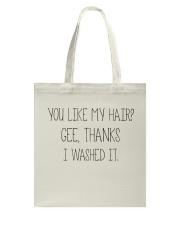 Black Woman And Afro Hair Pride Tote Bag thumbnail