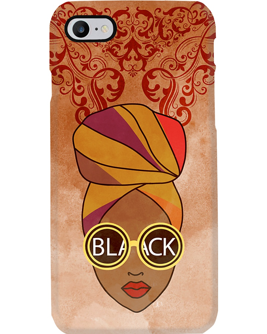 Black Woman And Afro Headwrap Phone Case