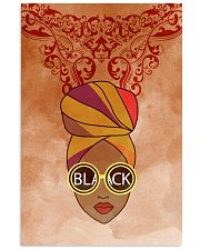 Black Woman And Afro Headwrap 11x17 Poster thumbnail
