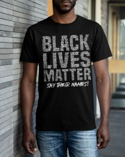 Black Lives Matter 24 TT Classic T-Shirt apparel-classic-tshirt-lifestyle-front-40