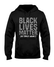 Black Lives Matter 24 TT Hooded Sweatshirt thumbnail