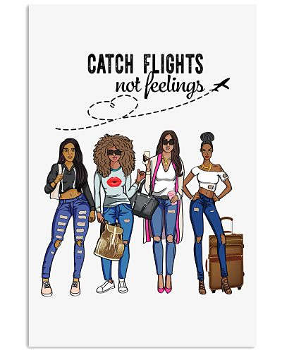 Catch Flight not feelings  all over print tote bag