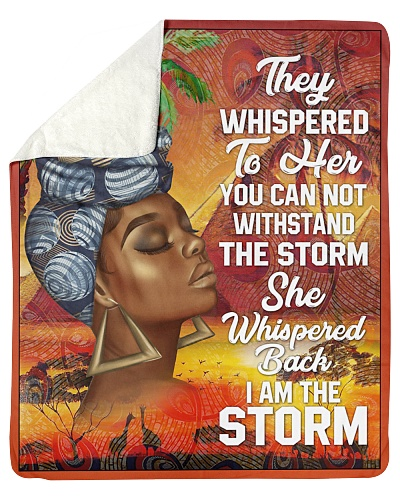 Black Woman And Afro Headwrap