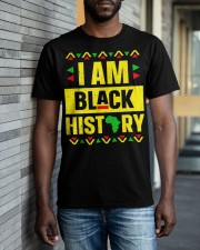 I Am Black History Month Classic T-Shirt apparel-classic-tshirt-lifestyle-front-40