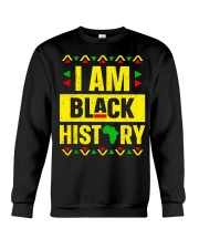 I Am Black History Month Crewneck Sweatshirt thumbnail