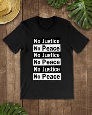 No JUstice No Peace TT2 Classic T-Shirt lifestyle-mens-crewneck-front-18