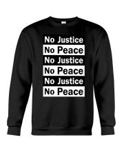 No JUstice No Peace TT2 Crewneck Sweatshirt thumbnail