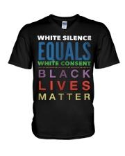 Black Lives Matter 26 V-Neck T-Shirt thumbnail