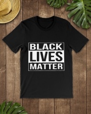 Black Lives Matter Political Protest Classic T-Shirt lifestyle-mens-crewneck-front-18