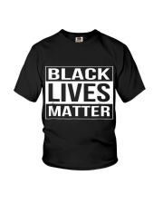 Black Lives Matter Political Protest Youth T-Shirt thumbnail