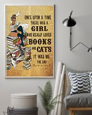 Girl Books and Cats 11x17 Poster lifestyle-poster-1
