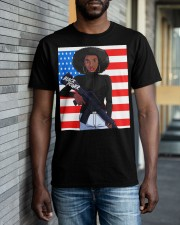 Black Power TT Classic T-Shirt apparel-classic-tshirt-lifestyle-front-40