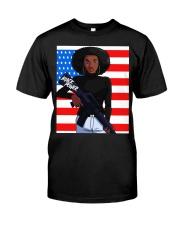 Black Power TT Classic T-Shirt front