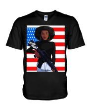 Black Power TT V-Neck T-Shirt thumbnail
