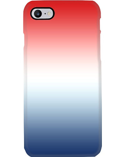 Blue White Red Classy Abstract Color Gradient