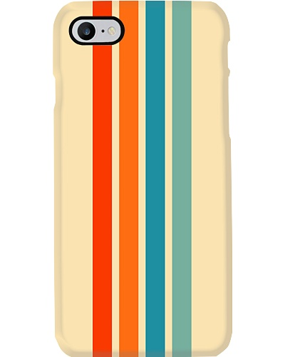 Ienao Abstract Colorful Summer Retro Stripes