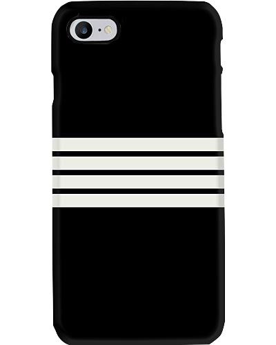 Narinaga Classy Black And White Retro Stripes