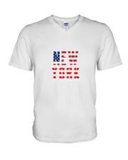 New York USA V-Neck T-Shirt thumbnail