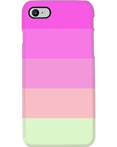 Ryoma Pink Classy Timeless Retro Style Stripes
