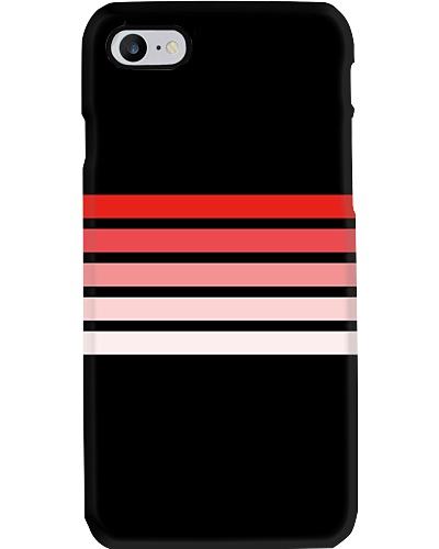 Muratsugu Classic Red Retro Stripes