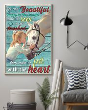 Girl Horse Most Beautiful Thing 24x36 Poster lifestyle-poster-1