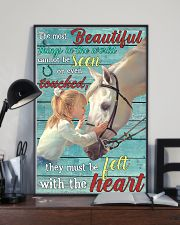Girl Horse Most Beautiful Thing 24x36 Poster lifestyle-poster-2