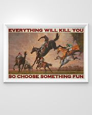 Horse Racing Choose Something Fun 36x24 Poster poster-landscape-36x24-lifestyle-02