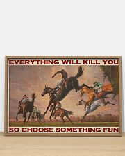 Horse Racing Choose Something Fun 36x24 Poster poster-landscape-36x24-lifestyle-03