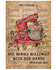Baking Proverbs 31 24x36 Poster front