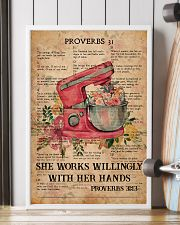 Baking Proverbs 31 24x36 Poster lifestyle-poster-4