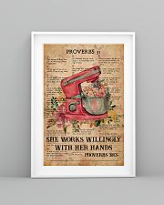 Baking Proverbs 31 24x36 Poster lifestyle-poster-5
