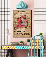 Baking Proverbs 31 24x36 Poster lifestyle-poster-6