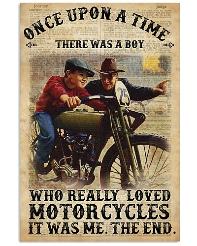 Boy OUAT Loved Motorcycles