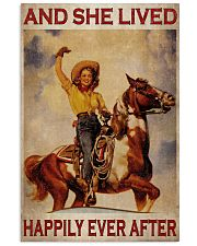 Cowgirl Happily Ever After 24x36 Poster front