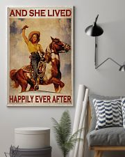 Cowgirl Happily Ever After 24x36 Poster lifestyle-poster-1
