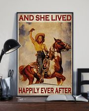Cowgirl Happily Ever After 24x36 Poster lifestyle-poster-2