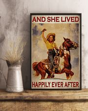 Cowgirl Happily Ever After 24x36 Poster lifestyle-poster-3