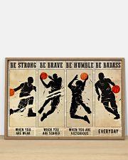 Basketball Be Badass 36x24 Poster poster-landscape-36x24-lifestyle-03