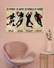 Basketball Be Badass 36x24 Poster poster-landscape-36x24-lifestyle-19