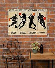 Basketball Be Badass 36x24 Poster poster-landscape-36x24-lifestyle-20