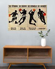 Basketball Be Badass 36x24 Poster poster-landscape-36x24-lifestyle-21
