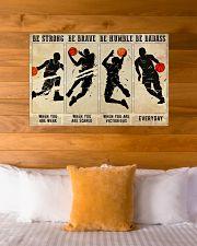 Basketball Be Badass 36x24 Poster poster-landscape-36x24-lifestyle-23