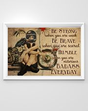 Motorcycle Girl Be Badass Everyday 36x24 Poster poster-landscape-36x24-lifestyle-02