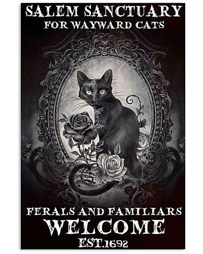 Gothic Cat Salem Sanctuary